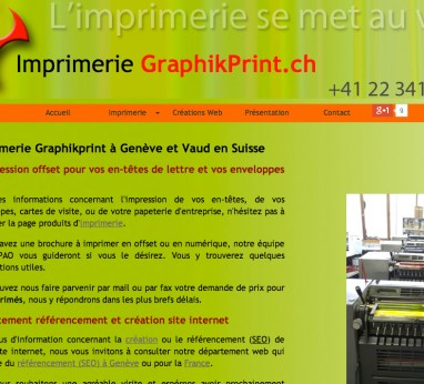 Imprimerie offset Graphikprint