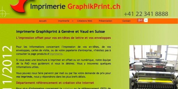 Imprimerie offset Graphikprint